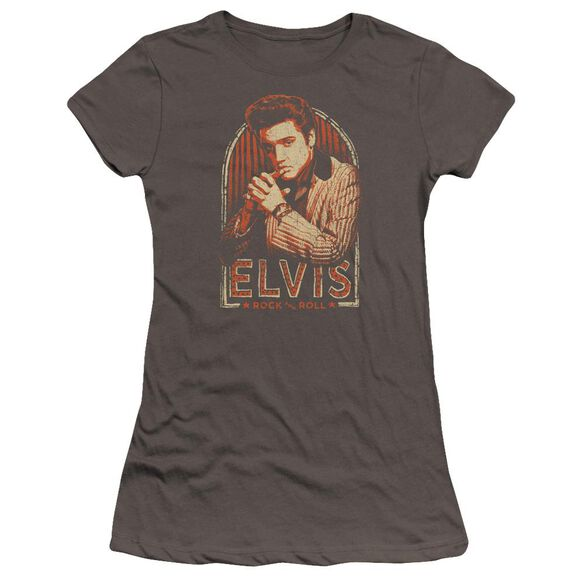 Elvis Stripes Hbo Short Sleeve Junior Sheer T-Shirt