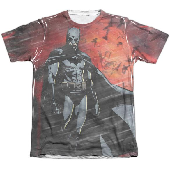 Batman Begins Frenzy Adult Poly Cotton Short Sleeve Tee T-Shirt