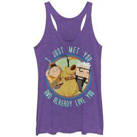 Up Just Met You Tank Top Juniors T-Shirt