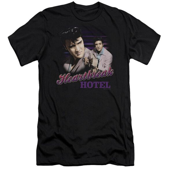 Elvis Heartbreak Hotel Short Sleeve Adult T-Shirt