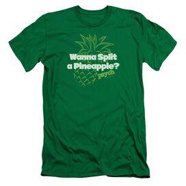 PSYCH PINEAPPLE SPLIT - S/S ADULT 30/1 - KELLY GREEN T-Shirt
