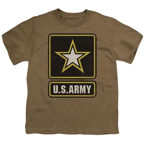 Army Big Logo Short Sleeve Youth Safari T-Shirt