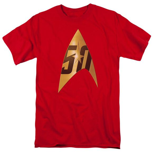 Star Trek 50 Th Anniversary Delta Short Sleeve Adult T-Shirt