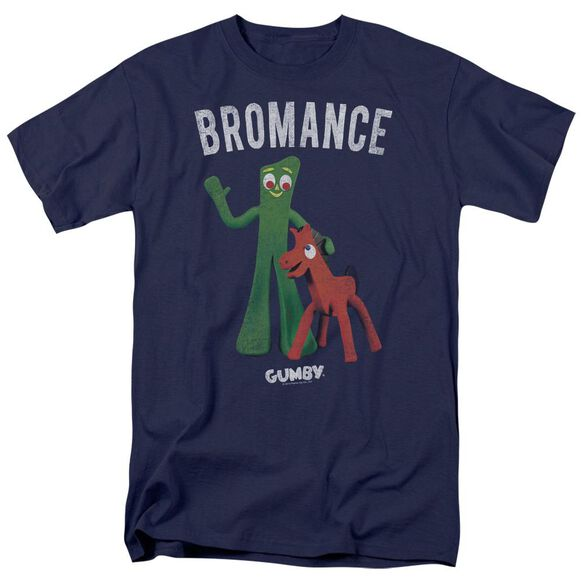 Gumby Bromance Short Sleeve Adult T-Shirt