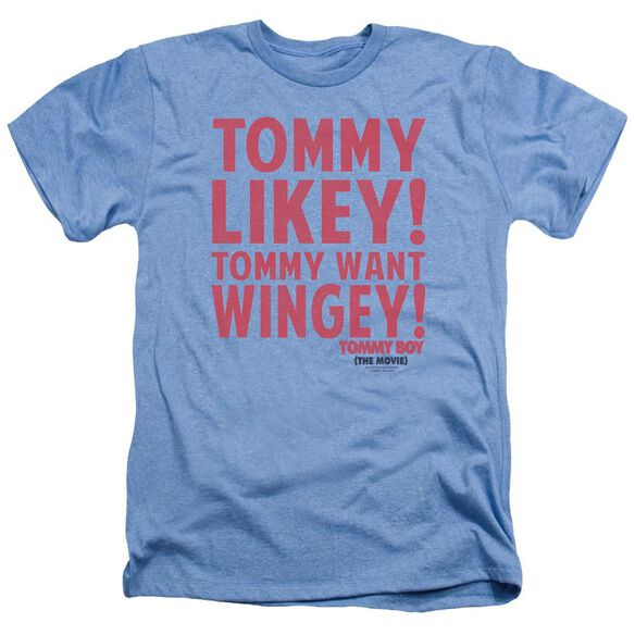 Tommy Boy Want Wingey Adult Heather Light