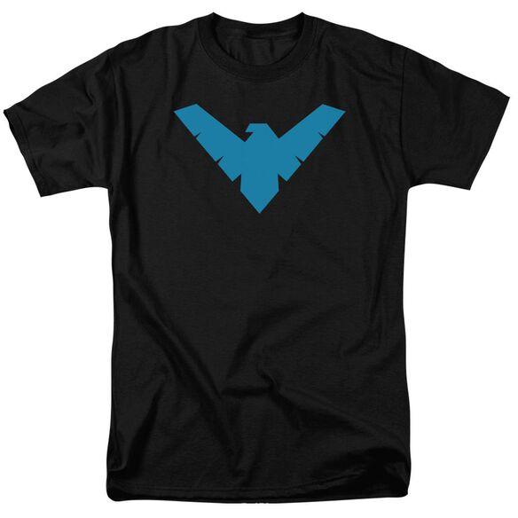 Batman Nightwing Symbol Short Sleeve Adult T-Shirt