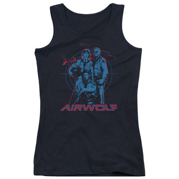 Airwolf Graphic Juniors Tank Top