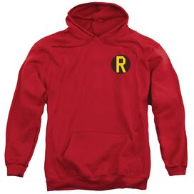 Dc Robin Logo Adult Pull Over Hoodie