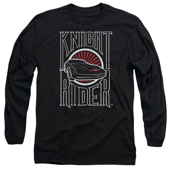 Knight Rider Logo Long Sleeve Adult T-Shirt