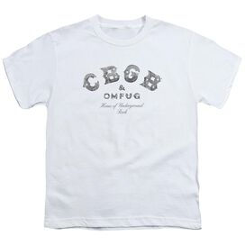 Cbgb Club Logo Short Sleeve Youth T-Shirt
