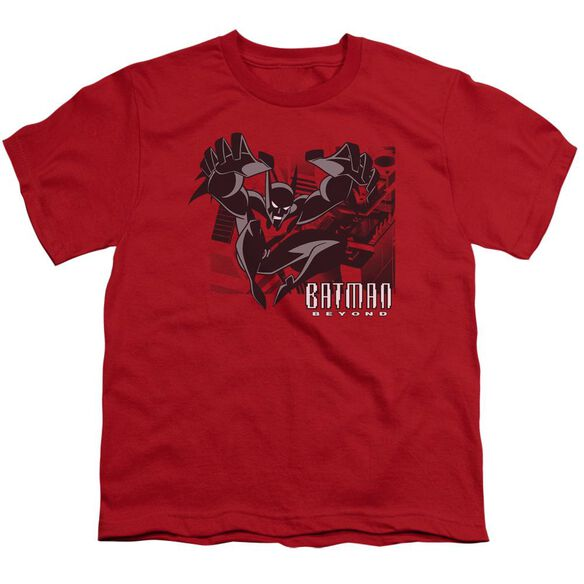 Batman Beyond City Jump Short Sleeve Youth T-Shirt