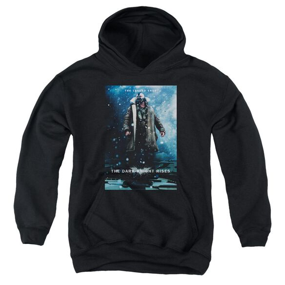 Dark Knight Rises Bane Poster Youth Pull Over Hoodie