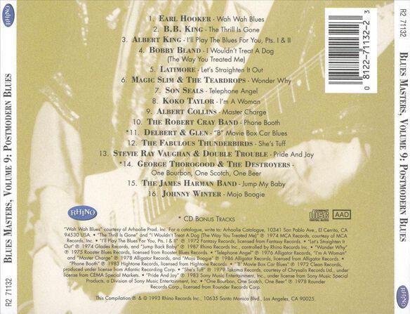 Blues Masters V9