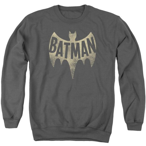 Batman Classic Tv Vintage Logo Adult Crewneck Sweatshirt