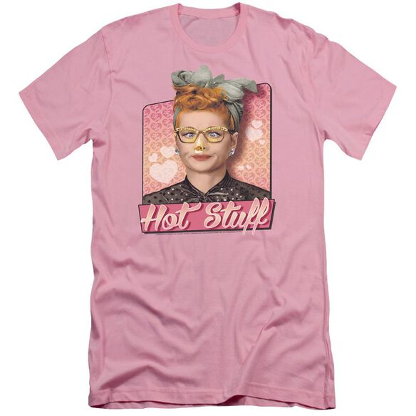 I Love Lucy Hot Stuff Short Sleeve Adult T-Shirt