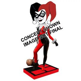 DC Originals Classic Harley Quinn Head Knocker Bobble Head