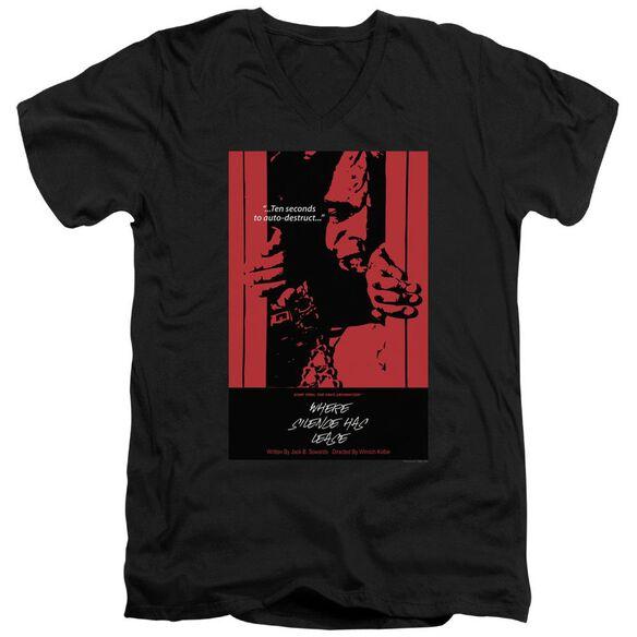 Star Trek Tng Season Episode Short Sleeve Adult V Neck T-Shirt