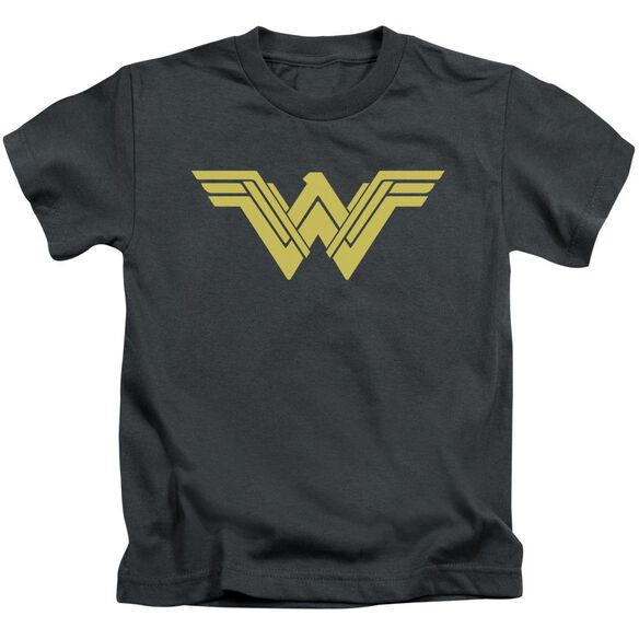 Batman V Superman Clean Line Logo Short Sleeve Juvenile T-Shirt