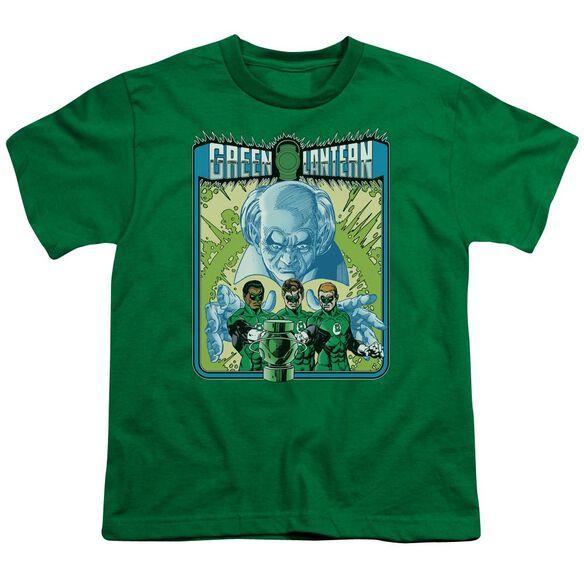 Lantern Gl #184 Cover Short Sleeve Youth Kelly T-Shirt