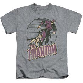Phantom Phantom And Dog Short Sleeve Juvenile Athletic T-Shirt