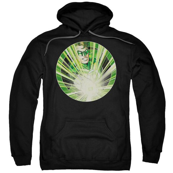 Green Lantern Light Em Up Adult Pull Over Hoodie