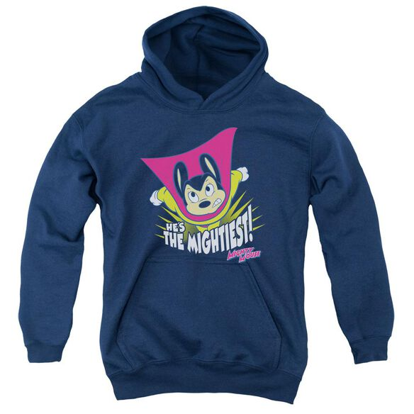 Mighty Mouse The Mightiest Youth Pull Over Hoodie