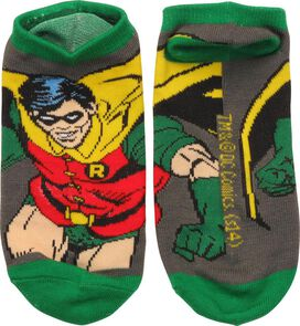 Robin Action Pose Low Cut Socks