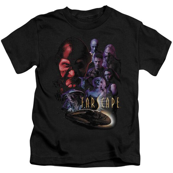 Farscape Criminally Epic Short Sleeve Juvenile Black T-Shirt