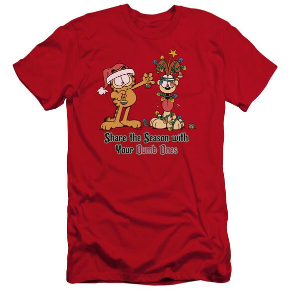 Garfield Share The Season Premuim Canvas Adult Slim Fit
