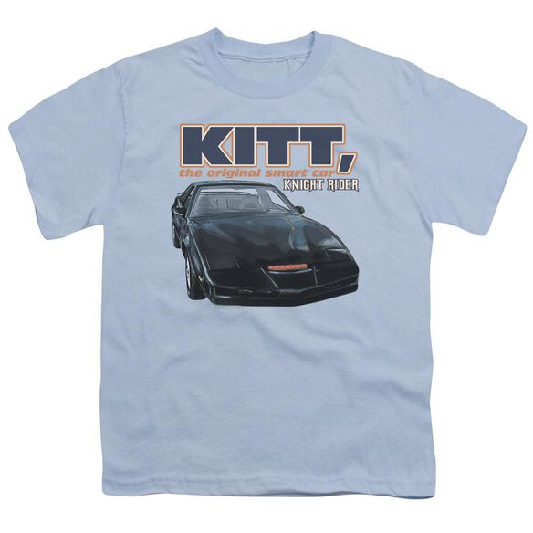 Knight Rider Original Smart Car Short Sleeve Youth Light T-Shirt