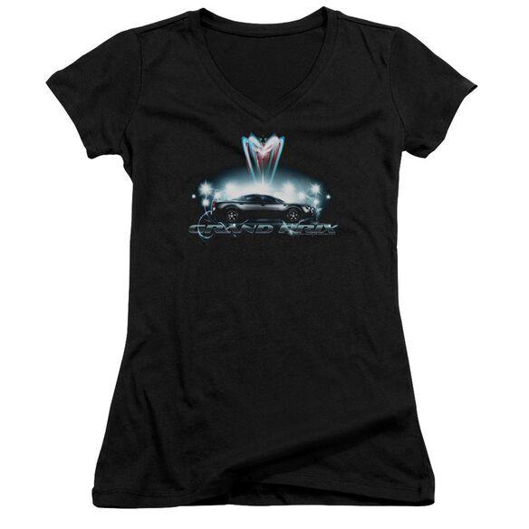 Pontiac Silver Grand Am Junior V Neck T-Shirt