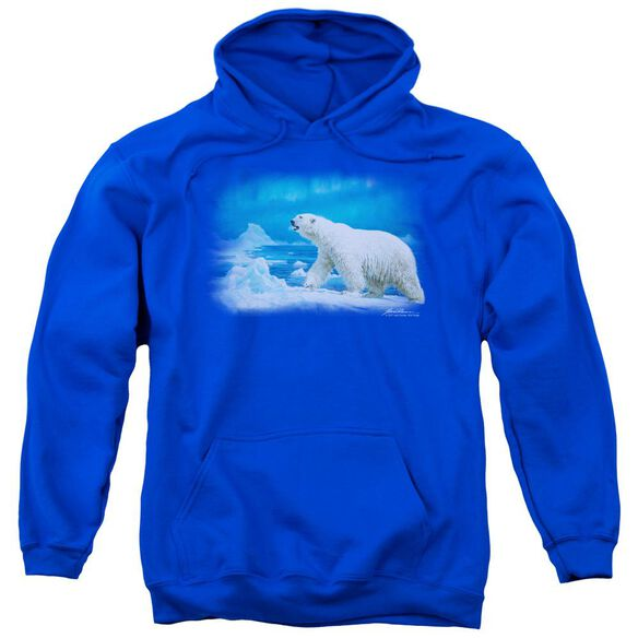 Wildlife Nomad Of The North Adult Pull Over Hoodie Royal