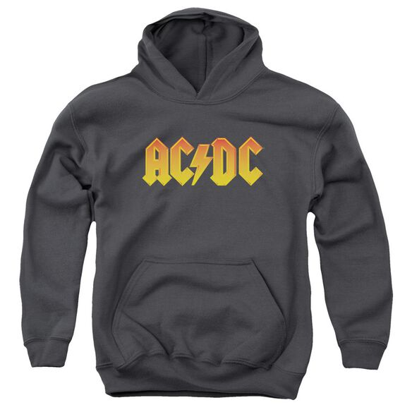 Acdc Logo Youth Pull Over Hoodie