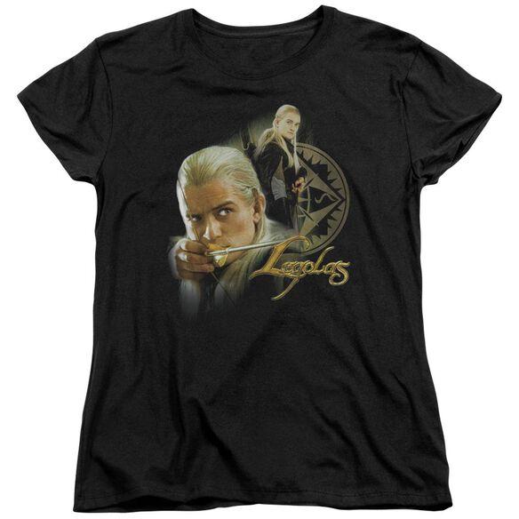 Lor Legolas Short Sleeve Womens Tee T-Shirt