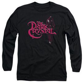 Dark Crystal Bright Logo Long Sleeve Adult T-Shirt