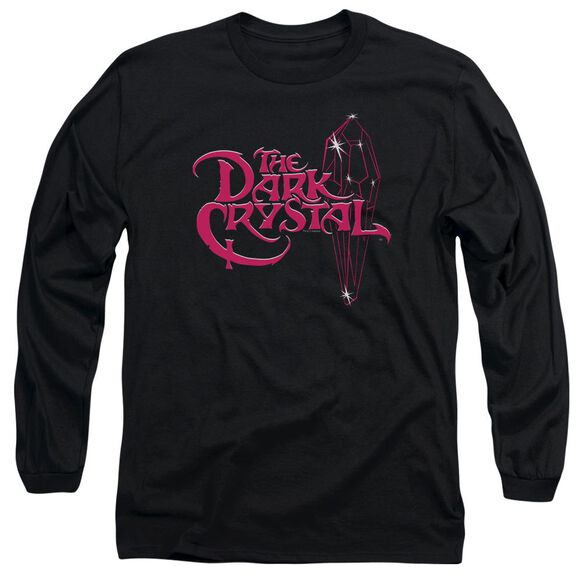 Dark Crystal Bright Logo Long Sleeve Adult T-Shirt