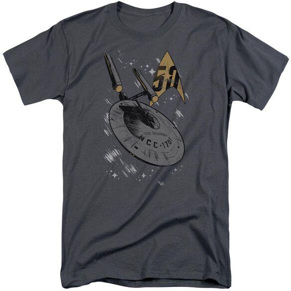 Star Trek Enterprise Dash Short Sleeve Adult Tall T-Shirt
