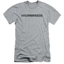 Hummer Distressed Hummer Logo Short Sleeve Adult Athletic T-Shirt