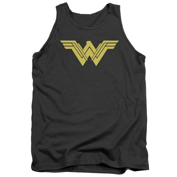 Batman V Superman Clean Line Logo Adult Tank