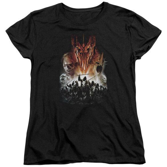 Lor Evil Rising Short Sleeve Womens Tee T-Shirt