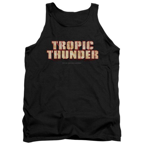Tropic Thunder Title Adult Tank