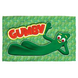 Gumby Chilling Beach Towel