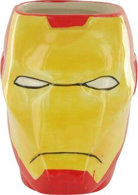 Iron Man Head Sculpted Mug