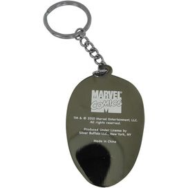 Spiderman Head Keychain
