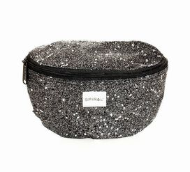 Black Stardust Fanny Pack