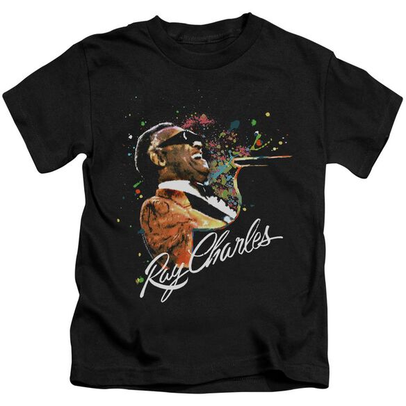 Ray Charles Soul Short Sleeve Juvenile Black Md T-Shirt