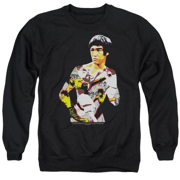 Bruce Lee Body Of Action Adult Crewneck Sweatshirt