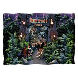 Jurassic Park Welcome To The Park Pillow Case
