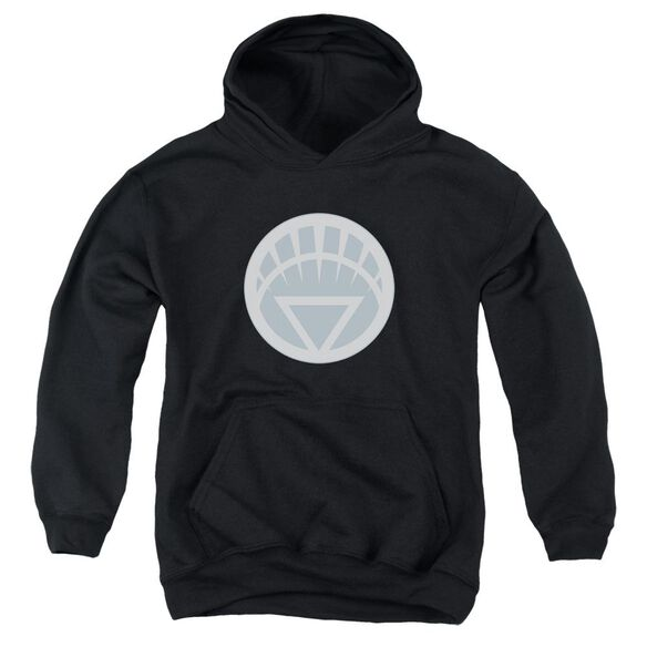 Green Lantern White Symbol Youth Pull Over Hoodie
