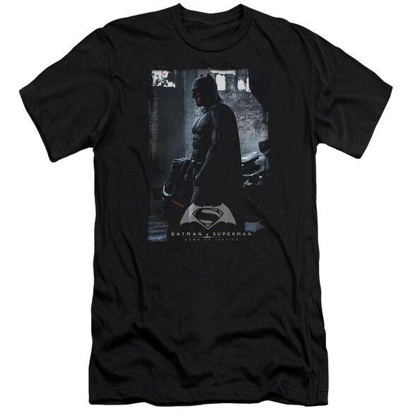 Batman V Superman Bat Poster Short Sleeve Adult T-Shirt